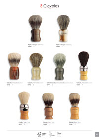 pocketknives shave BRUSHES