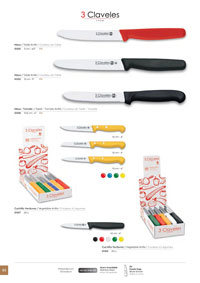 MEAT AND VEGETABLE KNIVES