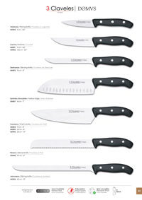 professional knives cook KITCHEN KNIVES DOMWS