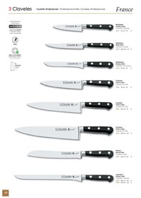 professional knives cook KITCHEN KNIVES FRANCE