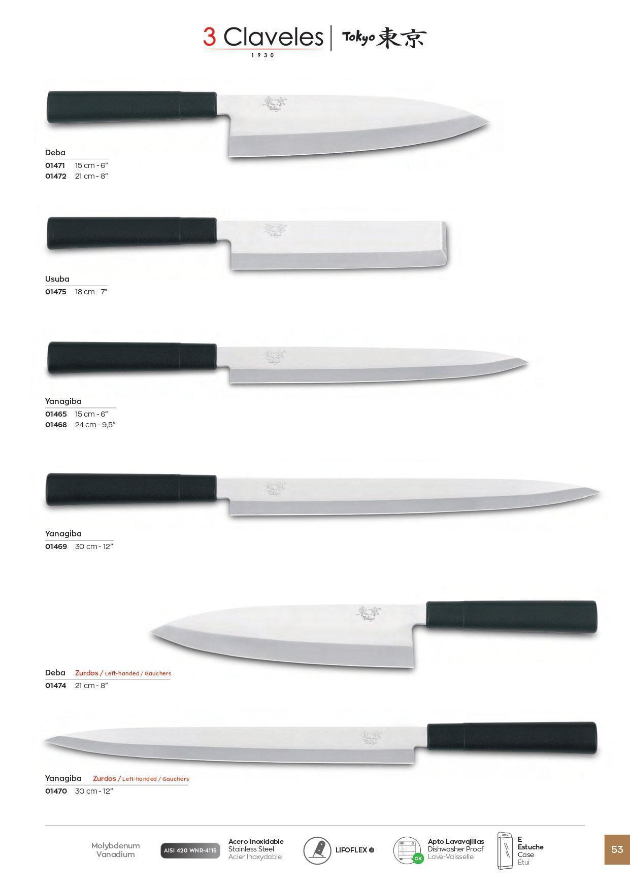 professional knives cook cuchillos cocina tokyo 3