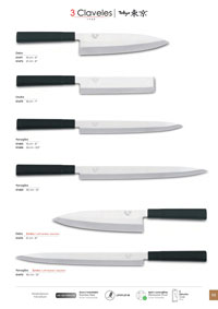 professional knives cook KITCHEN KNIVES TOKYO