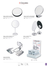 objects personal hygiene MIRRORS