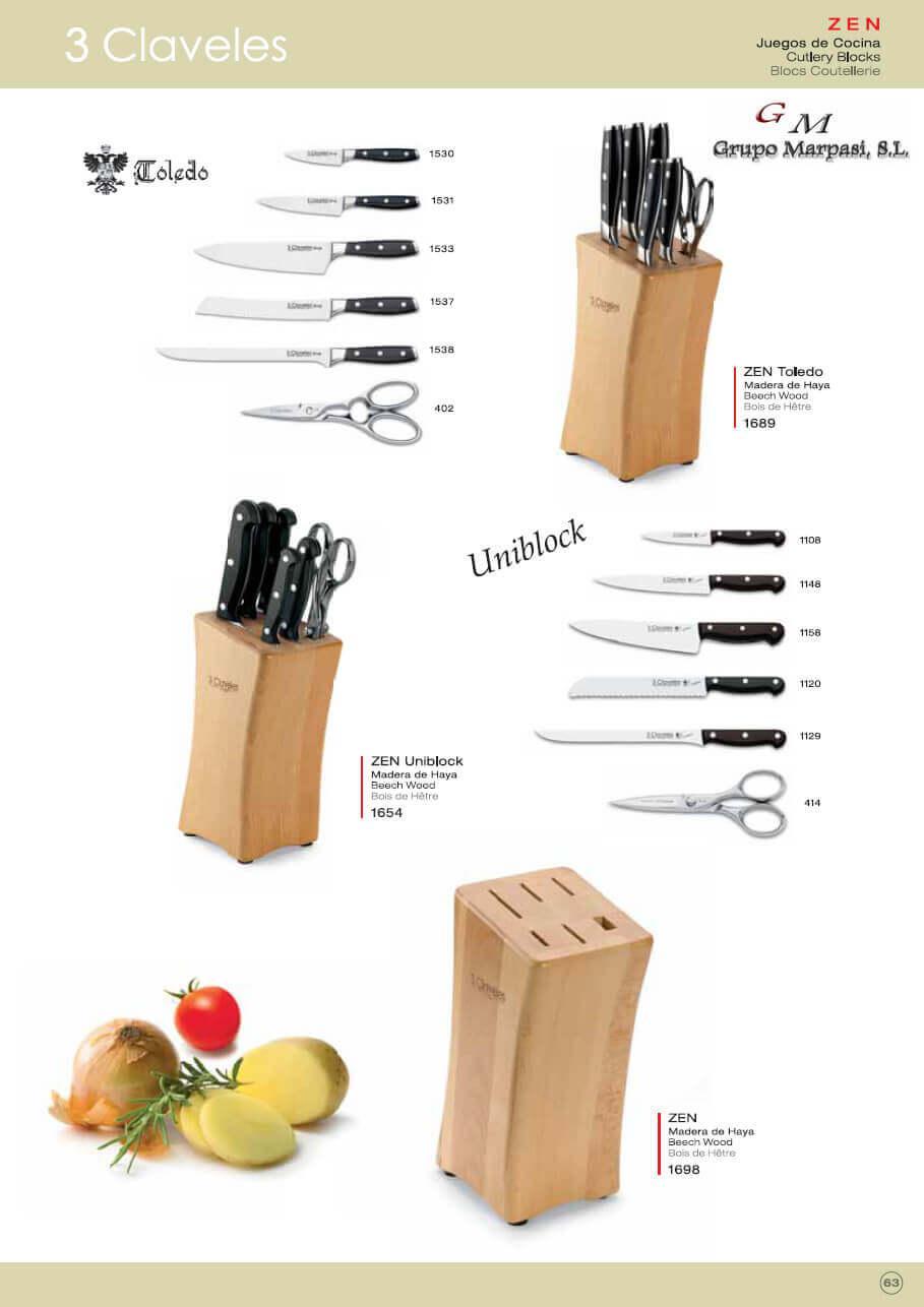 Utensili da cucina set di coltelli juegos cocina zen 2 for Ingrosso utensili da cucina
