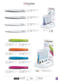 objects personal hygiene DEPILATORY TWEEZERS