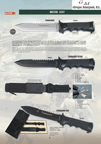 tactical knives  CUCHILLOS COMMANDO