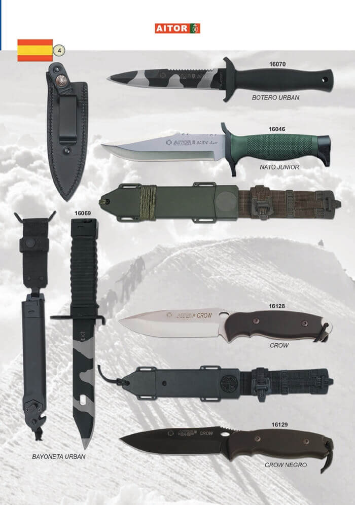 AITOR TACTICAL KNIVES - Aitor