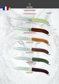 ANDRE VERDIER VERDIER FOLDING KNIVES