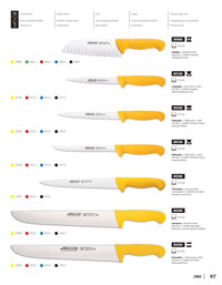 ARCOS BUTCHERS KNIVES 2900