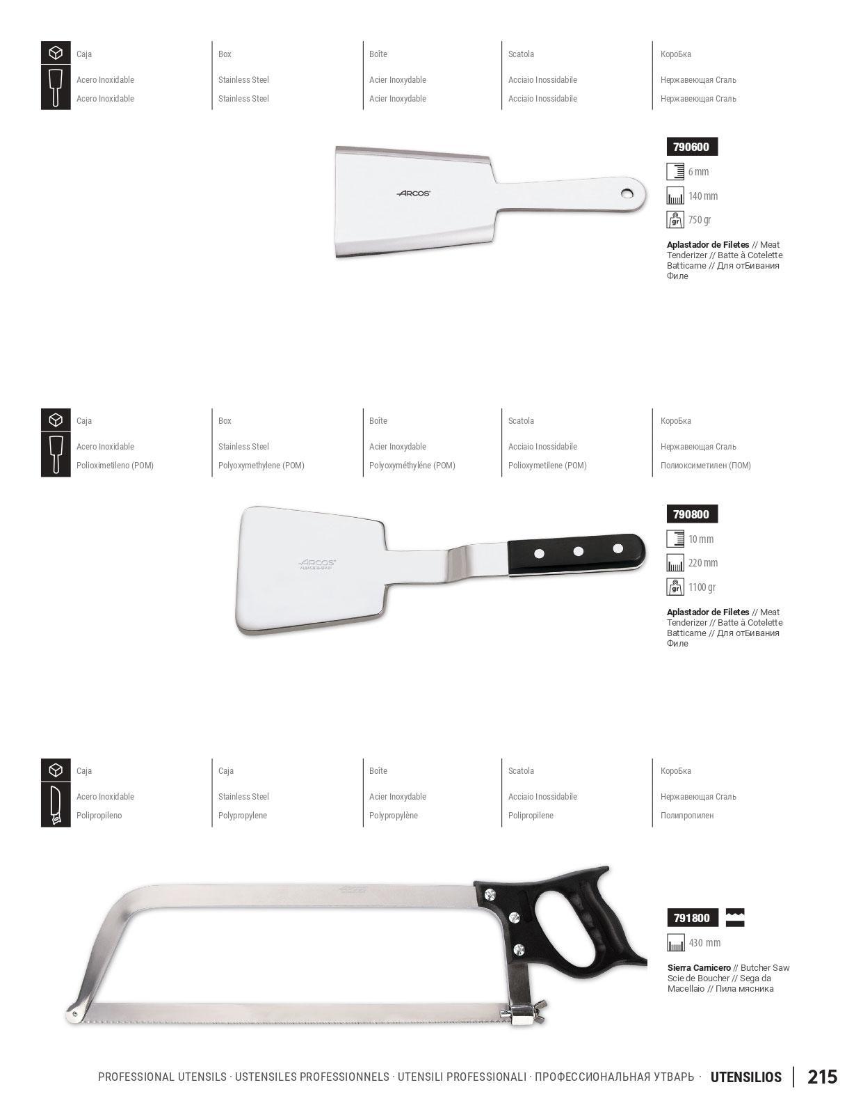 Cuchilleria profesional cocinero utensilios cocina for Cuchilleria profesional cocina