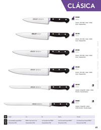 professional knives cook KITCHEN KNIVES ARCOS CLASICA