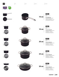 kitchen-utensils saucepans SAUCEPANS DURAPRO