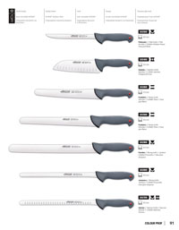 ARCOS COOK KNIVES COLOUR PROF