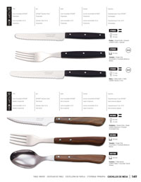 kitchen utensils table cutlery TABLE KNIVES