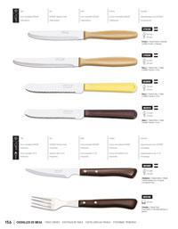 Arcos cuchillos chuleteros for Cuchillos carne mesa