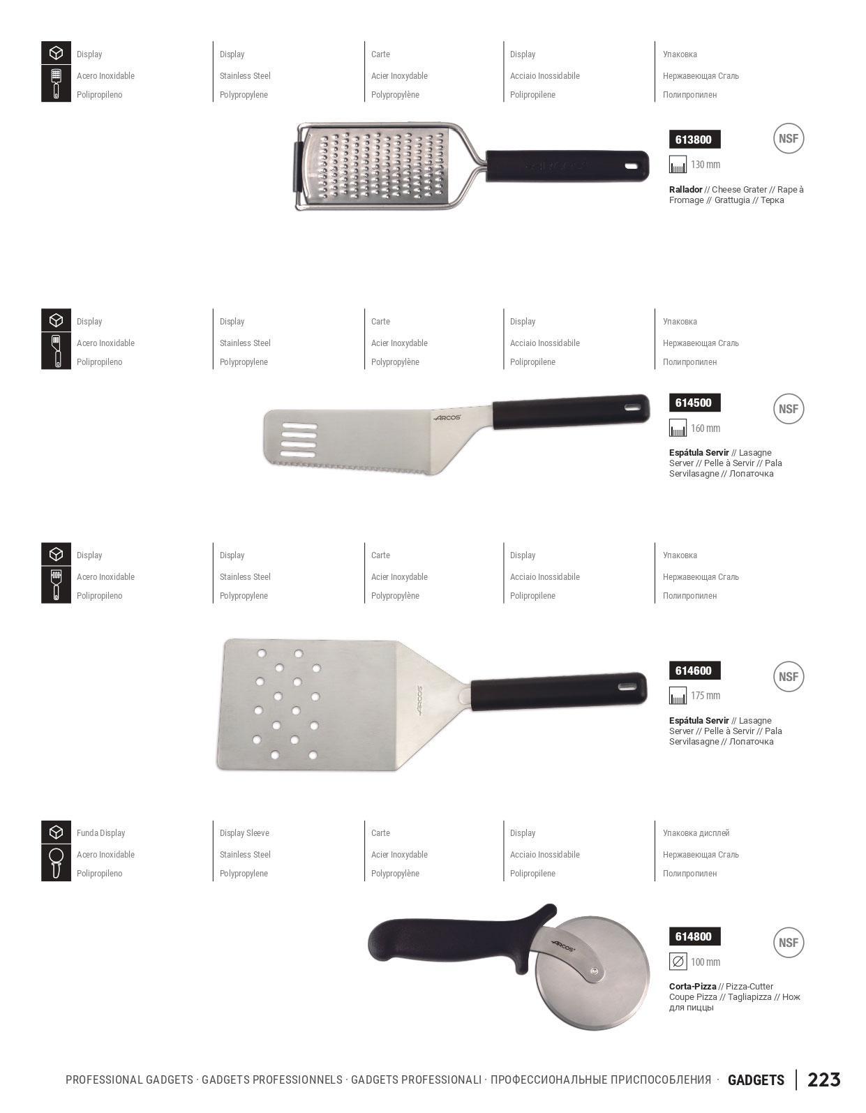 Utensilios De Cocina Profesional | 614800 Gadgets Profesionales Arcos Menaje Cocina Utensilios