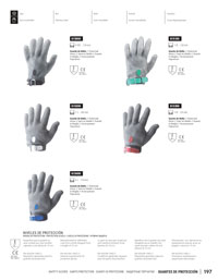coutellerie professionnelle poissonnier GANTS PROTECTION
