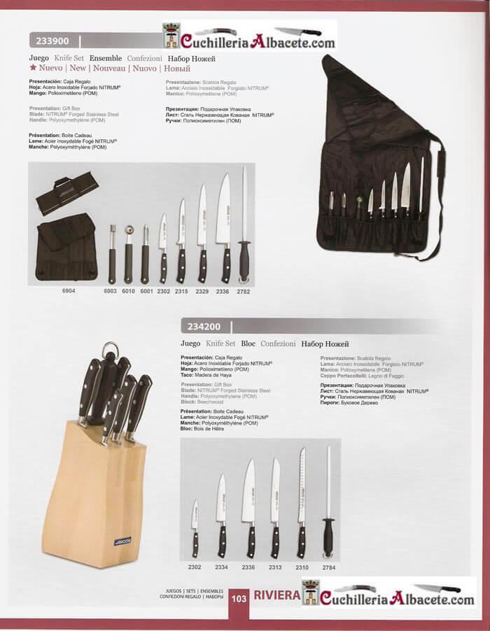 Manta cocina 2 arcos cuchilleria profesional mantas y for Cuchilleria profesional cocina