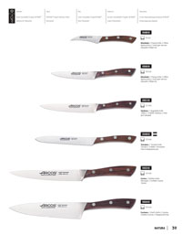 KITCHEN KNIVES NATURA