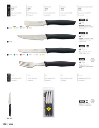 professional knives cook NOVA PARING KNIVES
