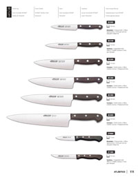professional knives cook KITCHEN KNIVES PALISANDRO