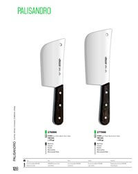 professional knives  BUTCHER CLEAVER PALISANDRO