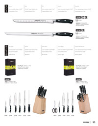ARCOS CHEF KNIVES RIVIERA