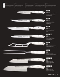 professional knives cook CHEF KNIVES RIVIERA WHITE