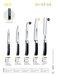 professional knives cook CHEF KNIVES SAETA