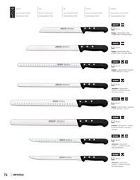 ARCOS PROFESSIONAL KNIVES UNIVERSAL