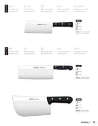 professional knives cook CHEF CLEAVER UNIVERSAL