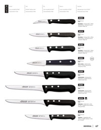 professional knives cook CHEF KNIVES UNIVERSAL