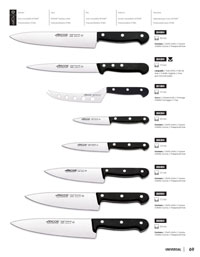 ARCOS CHEF KNIVES UNIVERSAL