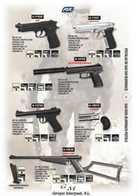airsoft  AIRSOFT GAS PISTOLS 2 ASG