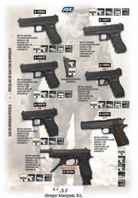 AIRSOFT GAS PISTOLS 3 ASG