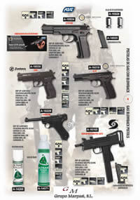airsoft  AIRSOFT GAS PISTOLS 4 ASG