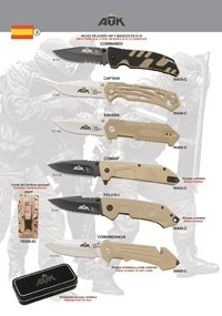 ATK TACTICAL POCKET KNIVES ATK 01
