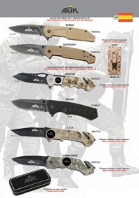 ATK TACTICAL POCKET KNIVES ATK 02