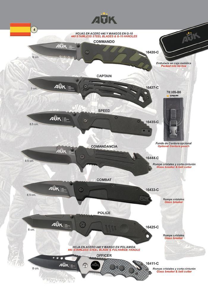 TACTICAL POCKET KNIVES ATK 04 - ATK
