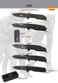 ATK TACTICAL POCKET KNIVES ATK 05