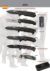 ATK TACTICAL POCKET KNIVES ATK 06