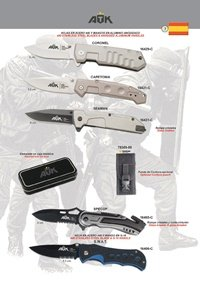 ATK TACTICAL POCKET KNIVES ATK 08