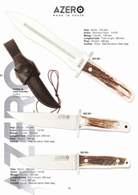 AZERO HUNTING KNIVES DEER STAG
