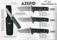 AZERO TACTICAL KNIVES AZERO MICARTA