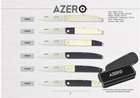 AZERO HAND CRAFTED FOLDING KNIVES