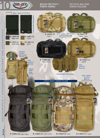 TACTICAL BAG AND TERMO HOLDER