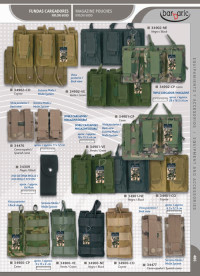 airsoft accessories BARBARIC MAGAZINE POUCHES