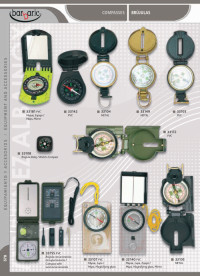 camping and survival instruments COMPASSES BARBARIC