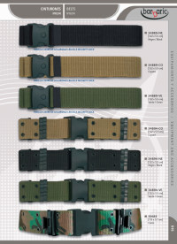 camping and survival belts BELTS BARBARIC