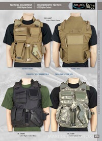 objects personal  TACTICAL EQUIPMENT BARBARIC